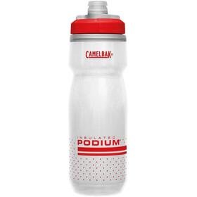 CamelBak Podium Chill Bottle 620ml fiery red/white